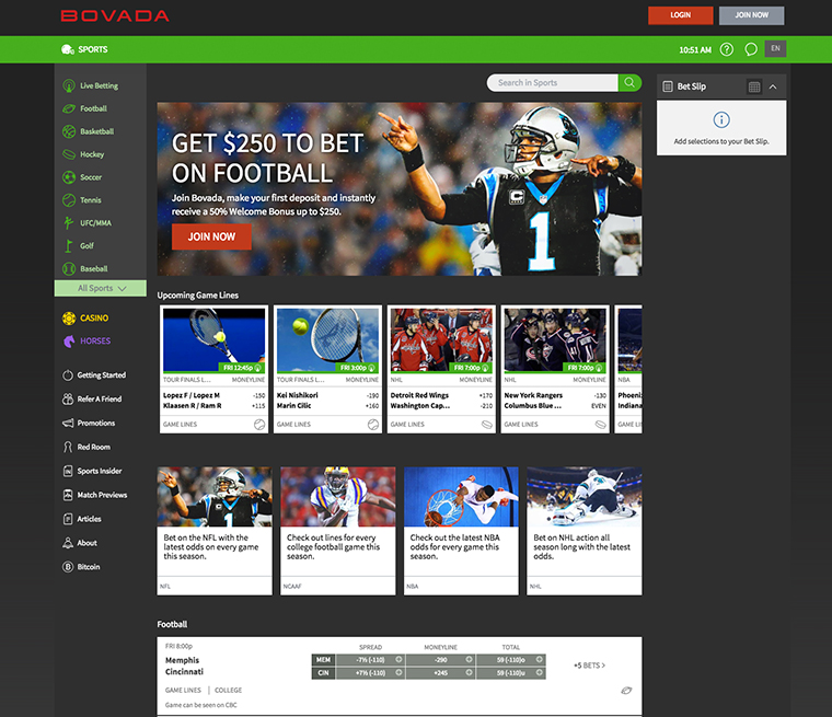 Bovada review