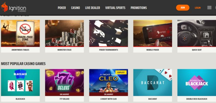 Ignition Casino review